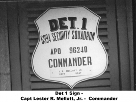Det 1 Sign - Lester R. Mellott Jr., NT-124-1