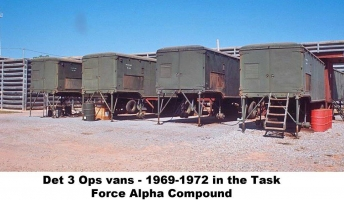 Det 3 Ops vans, 1969-72 (in TFA compound), NKP-585-1