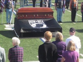 JNP+-+206 Casket on display by Jim Kaus