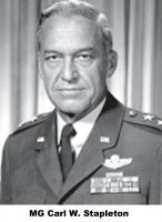 Major General Carl W. Stapleton