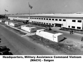 Military Assistance Command Vietnam MACV hqs Saigon